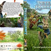 Peter Rabbit (2018) R1 Custom DVD Cover