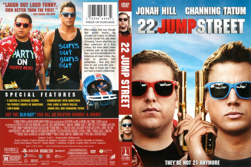 22 Jump Street (2014) R1 DVD Cover - DVDcover Com