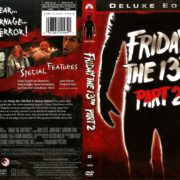 Friday the 13th Part 2 (1981) R1 DVD Cover