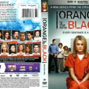 Orange is the New Black Season 1 (2013) R1 DVD Cover