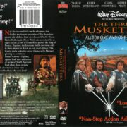 The Three Musketeers (1993) R1 DVD Cover