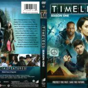 Timeless Season 1 (2016) R1 DVD Cover