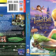 Tinkerbell and the Great Fairy Rescue (2010) R1 DVD Cover