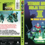 Teenage Mutant Ninja Turtles II: Secret of the Ooze (2002) R1 DVD Cover