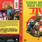 Teenage Mutant Ninja Turtles III (2002) R1 DVD Cover