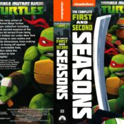 Teenage Mutant Ninja Turtles Seasons 1 & 2 (2015) R1 DVD Cover