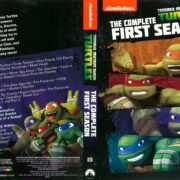 Teenage Mutant Ninja Turtles Season 1 (2013) R1 DVD Cover