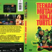 Teenage Mutant Ninja Turtles (1990) R1 DVD Cover