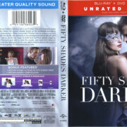 Fifty Shades Darker (2017) R1 Blu-Ray Cover & Labels