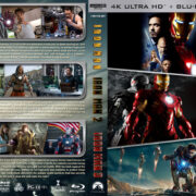 Iron Man Trilogy (2008-2013) R1 Custom UHD 4K Cover