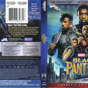 Black Panther (2018) R1 UHD 4K Cover & Labels
