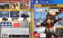 Just Cause 3: Gold Edition (2017) PAL PS4 Cover