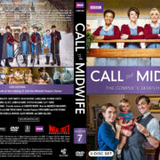 Call the Midwife – Season 7 (2018) R1 Custom DVD Cover & Labels