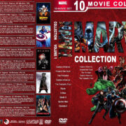 Marvel Collection – Volume 1 (1944-2003) R1 Custom DVD Cover
