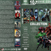 Marvel Collection – Volume 4 (2012-2015) R1 Custom DVD Cover