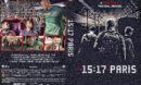 The 15:17 to Paris (2018) R1 Custom DVD Cover & Label