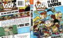 The Loud House Season 1 Volume 2 (2016) R1 DVD Cover