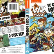 The Loud House Season 1 Volume 2 (2016) R1 DVD Cover