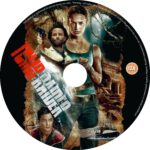 Tomb Raider (2018) R0 CUSTOM DVD Label