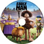 Early Man (2018) R0 CUSTOM DVD Label