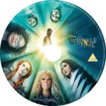 A Wrinkle in time (2018) R0 CUSTOM DVD Label