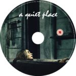 A Quiet Place (2018) R0 CUSTOM DVD Label