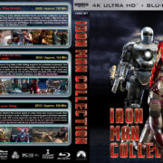 Iron Man Collection (2008-2013) R1 Custom 4K UHD Cover