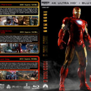 Iron Man Trilogy (2008-2013) R1 Custom 4K UHD Cover