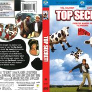 Top Secret (1984) R1 DVD Cover