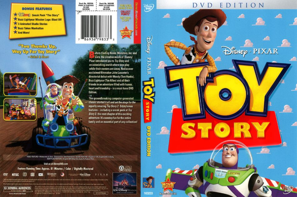 Toy Story Dvd Edition 2010 R1 Dvd Cover Dvdcover Com