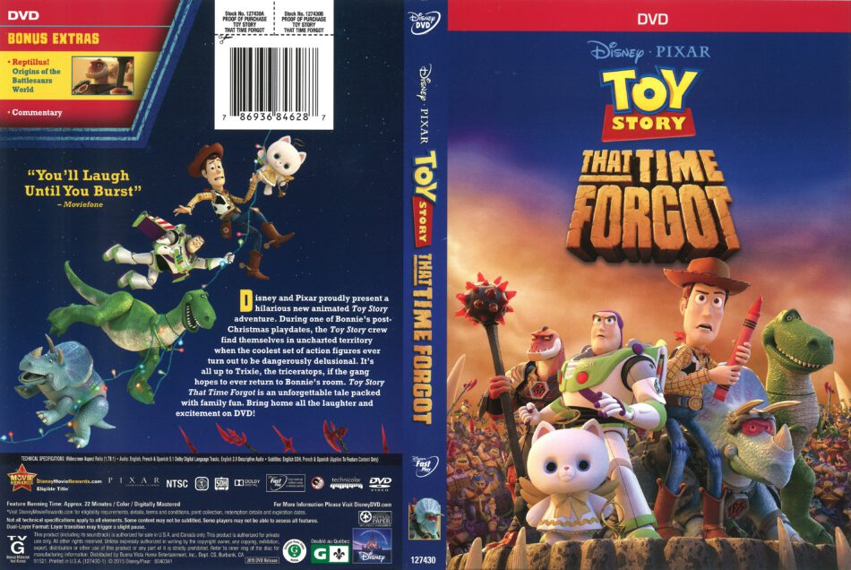 Toy Story That Time Forgot 2015 R1 Dvd Cover Dvdcover Com