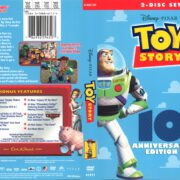 Toy Story 10th Anniversary Edition (2005) R1 DVD Cover