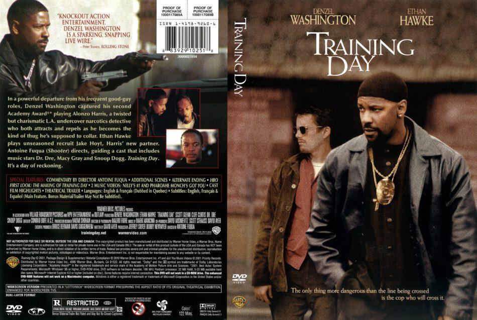 Training Day (2001) R1 DVD Cover - DVDcover.Com