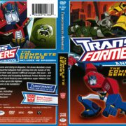 Transformers Animated (2014) R1 DVD Cover