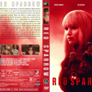 Red Sparrow (2018) R1 Custom DVD Cover
