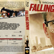 Falling Down - Ein ganz normaler Tag (1992) R2 German Custom Blu-Ray Cover & Label