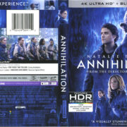 Annihilation (2018) R1 UHD 4K Cover & Labels