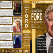Harrison Ford Film Collection – Set 9 (2013-2017) R1 Custom DVD Covers