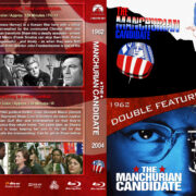 The Manchurian Candidate Double Feature (1962-2004) R1 Custom Blu-Ray Cover