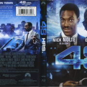 48 Hrs (1982) R1 Blu-Ray Cover & Label