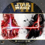Star Wars: The Last Jedi (2017) R1 Custom DVD Label