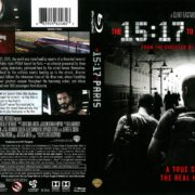 15:17 to Paris (2018) R1 Blu-Ray Cover