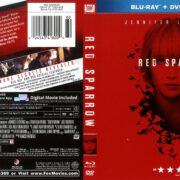 Red Sparrow (2018) R1 Blu-Ray Cover