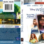 A Wrinkle in Time (2018) R1 Blu-Ray Cover