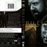 Billions Season 1 (2016) R1 DVD Cover