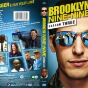 Brooklyn Nine-Nine Season 3 (2016) R1 DVD Cover