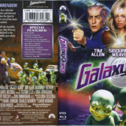 Galaxy Quest (1999) R1 Blu-Ray Cover & Label