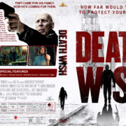 Death Wish (2018) R1 Custom DVD Cover & Label