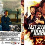 Last Seen In Idaho (2018) R1 Custom DVD Cover