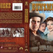 Gunsmoke Season 1 (1956) R1 DVD Cover